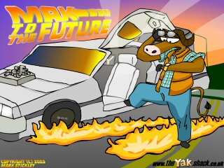 Mak To The Future Wallpaper