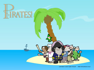 Pirates! Cast